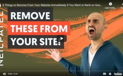 8 zaken van je website halen om beter te scoren in Google