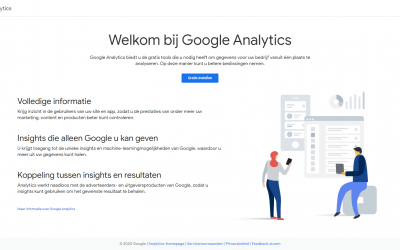 Hoe Google Analytics toevoegen aan WordPress websites