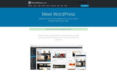 25 populaire websites gemaakt met WordPress – 2021 versie