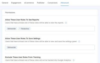 Jezelf uitsluiten van Google Analytics