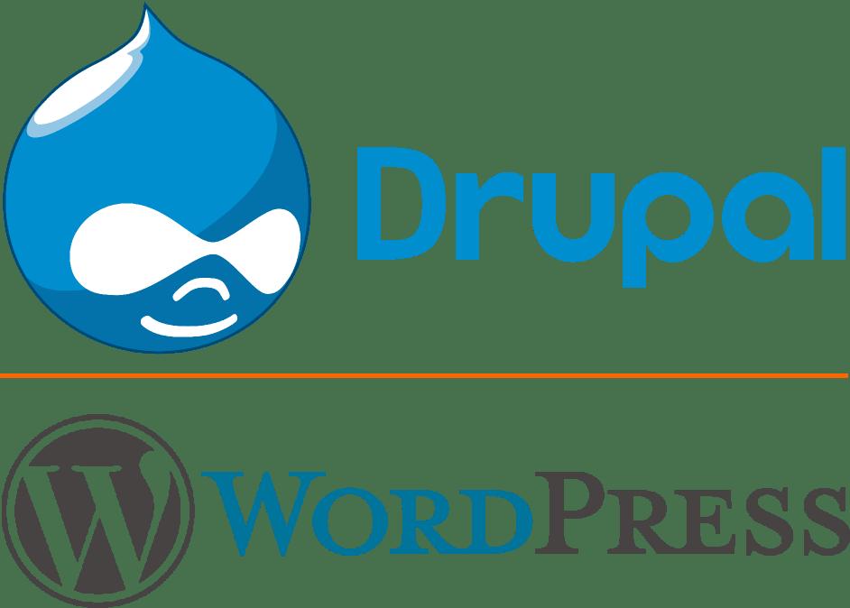 Drupal en WordPress