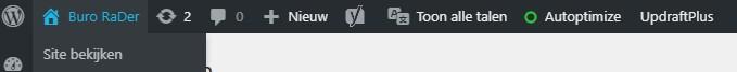 Website bekijken wanneer ingelogd in WordPress