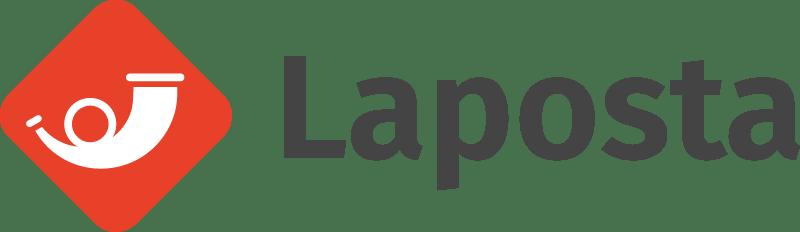 Logo Laposta, alternatief voor MailChimp