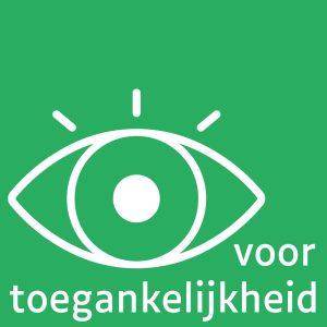 Luciole in Canva beschikbaar en gebruikt voor het logo voor Oog voor toegankelijkheid