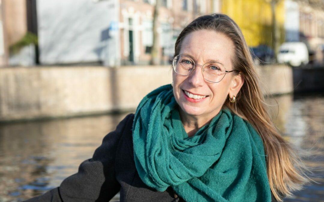 Jacoline Steegstra van blog en podcast Klanten uit je website als therapeut