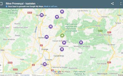 Google Maps kaart in de praktijk